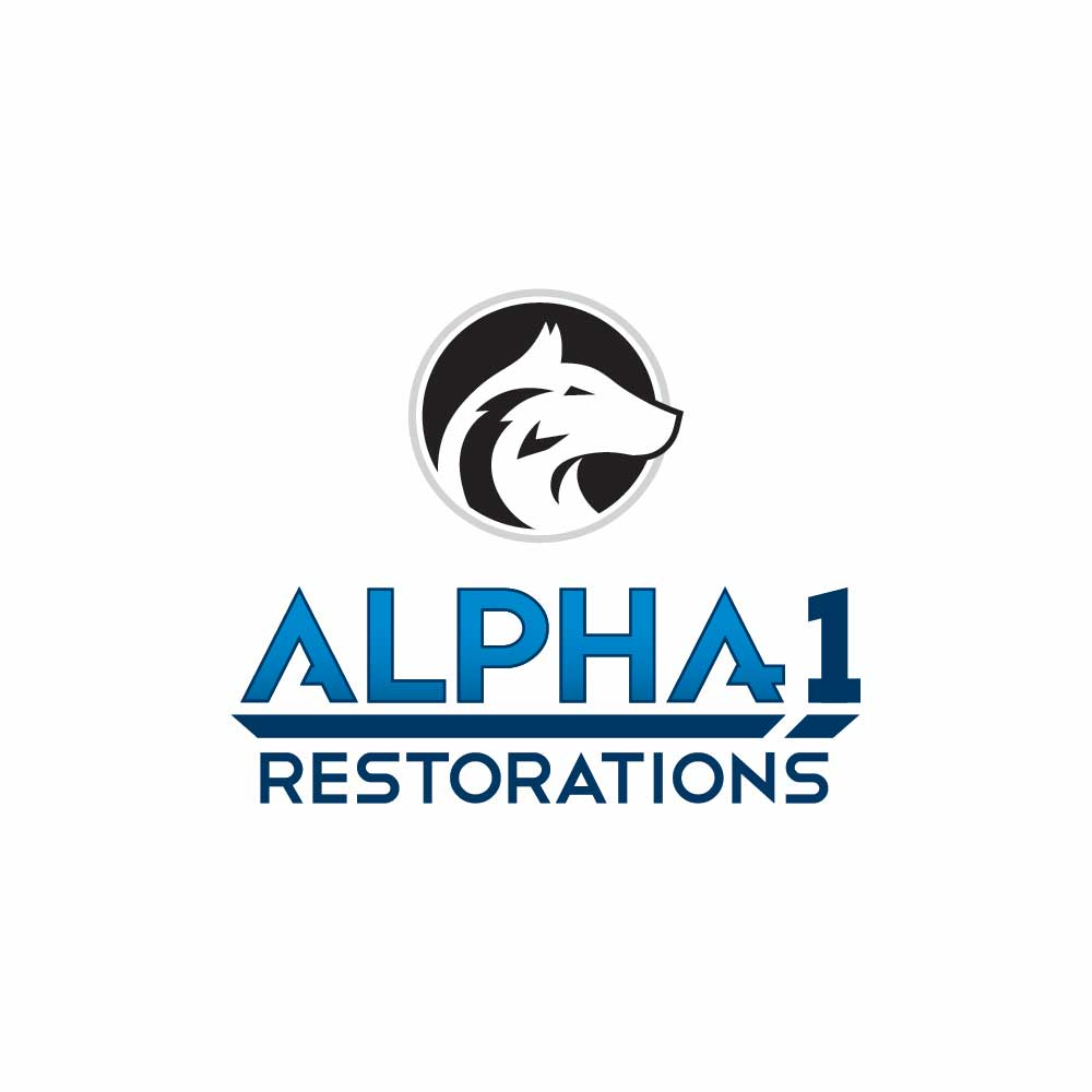 Logo Design for Alpha 1 Restorations