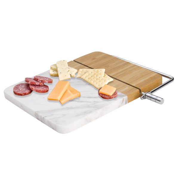 Marble Cutting Board Charcuterie Set | Holiday Gift Guide 2019