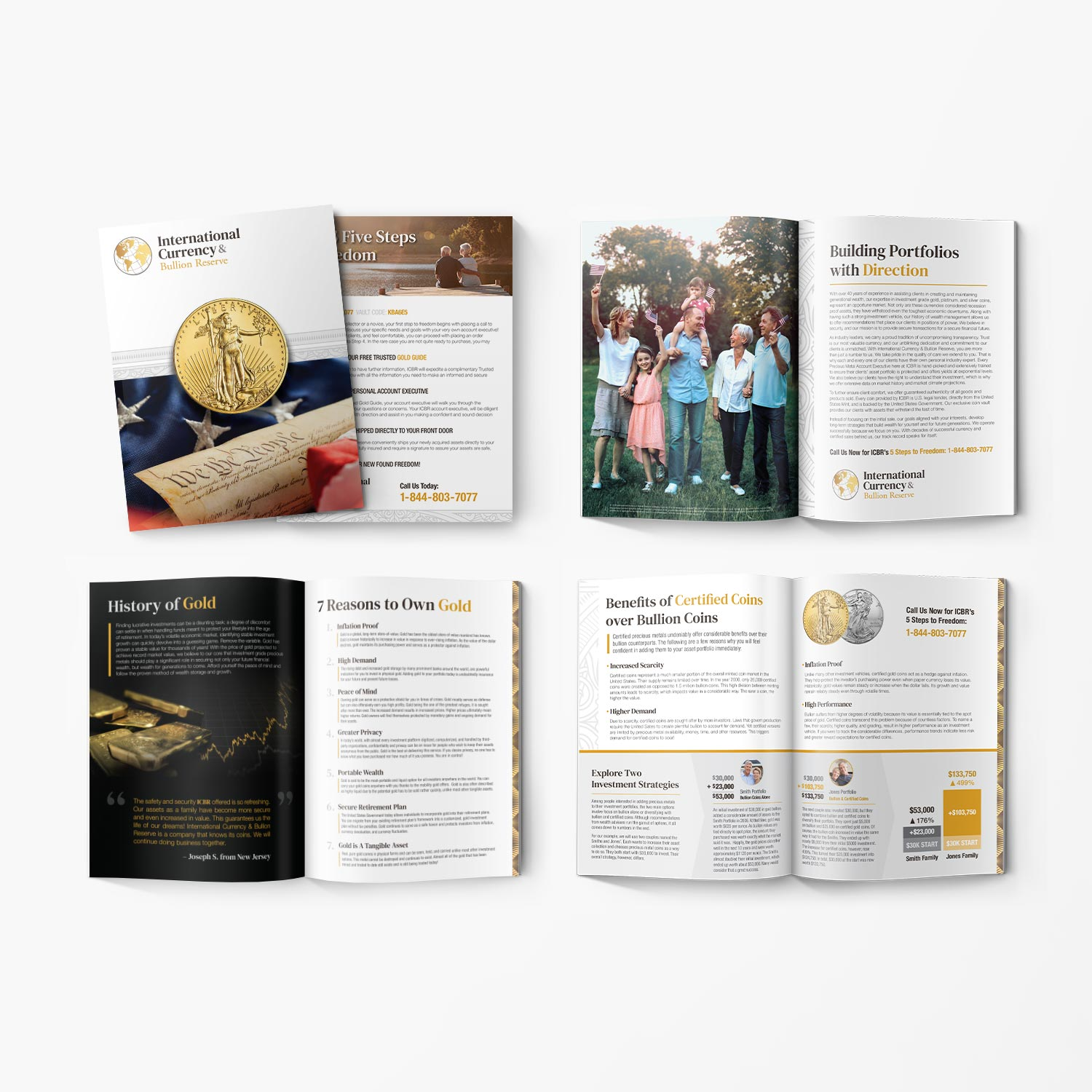 Design and printing of marketing brochure booklet for ICBR.
