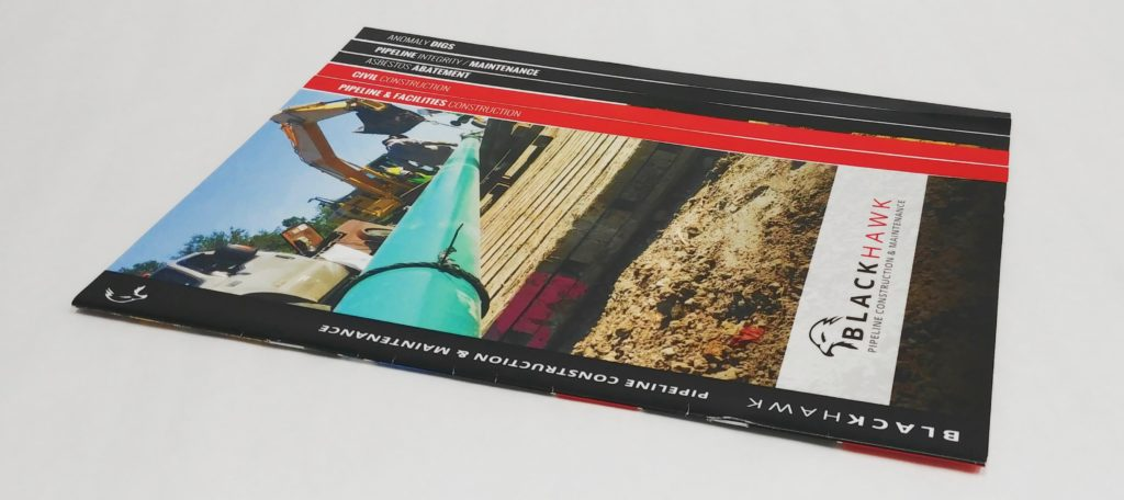 Speciality Booklet Brochure with Staggered Pages