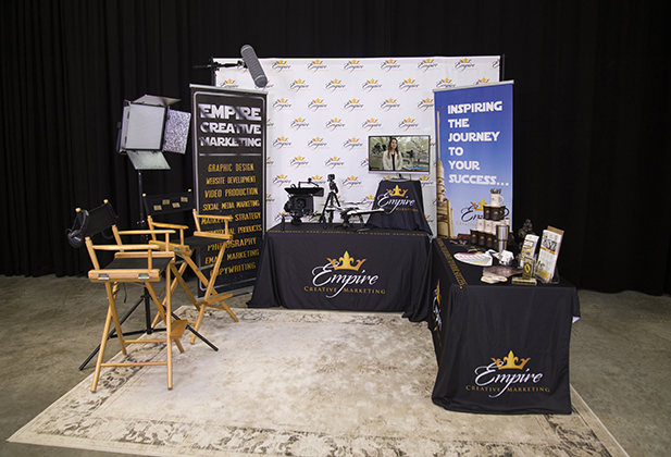 Top five, most important elements of your trade show booth.