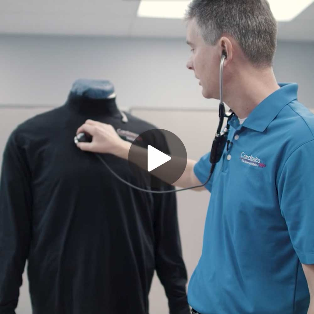 Corporate Video for Cardionics Sim Suit Product