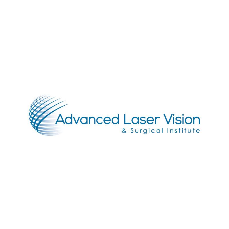 Logo Design Advanced Laser Vision